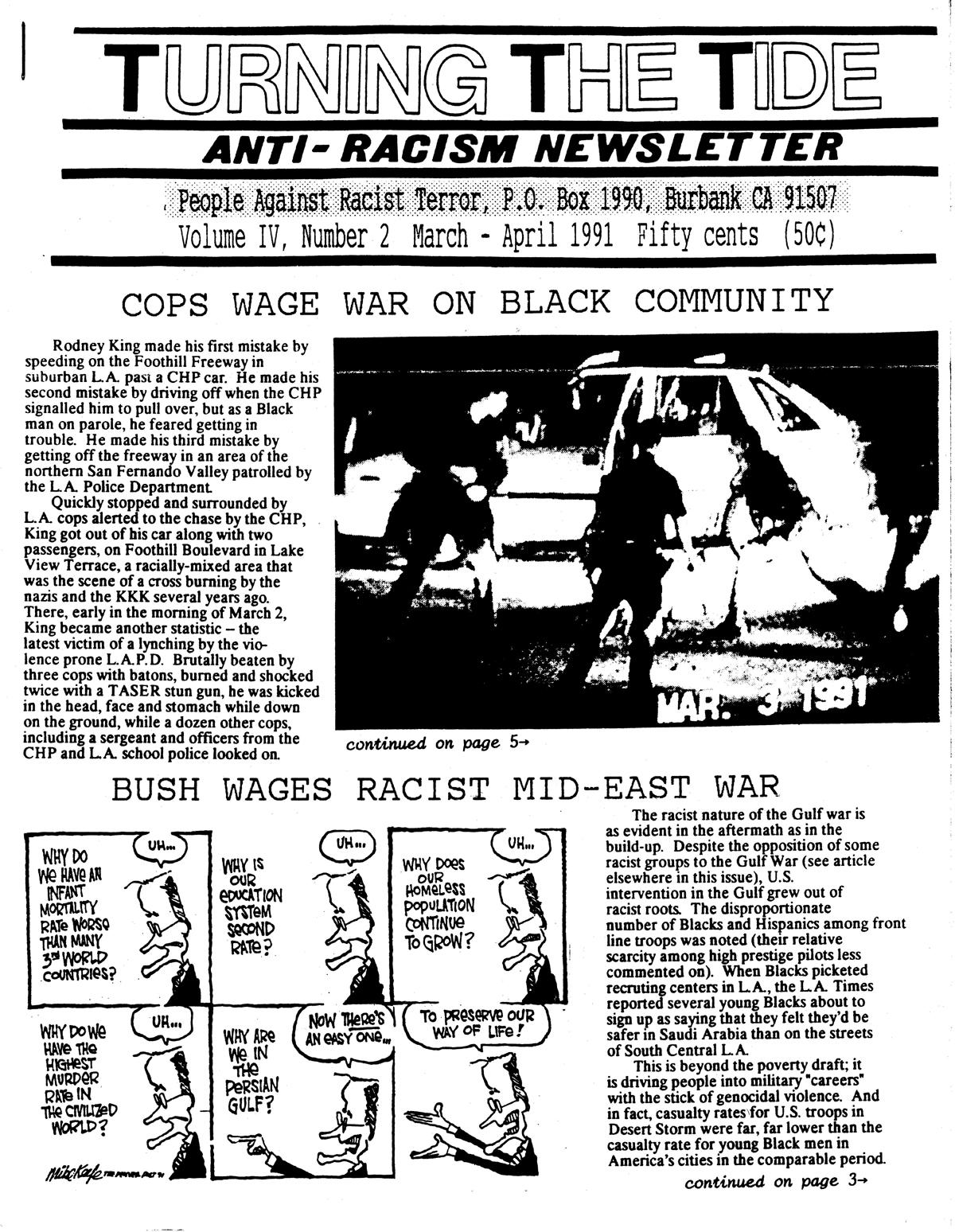TTT Vol. 4, #2 March-April 1991