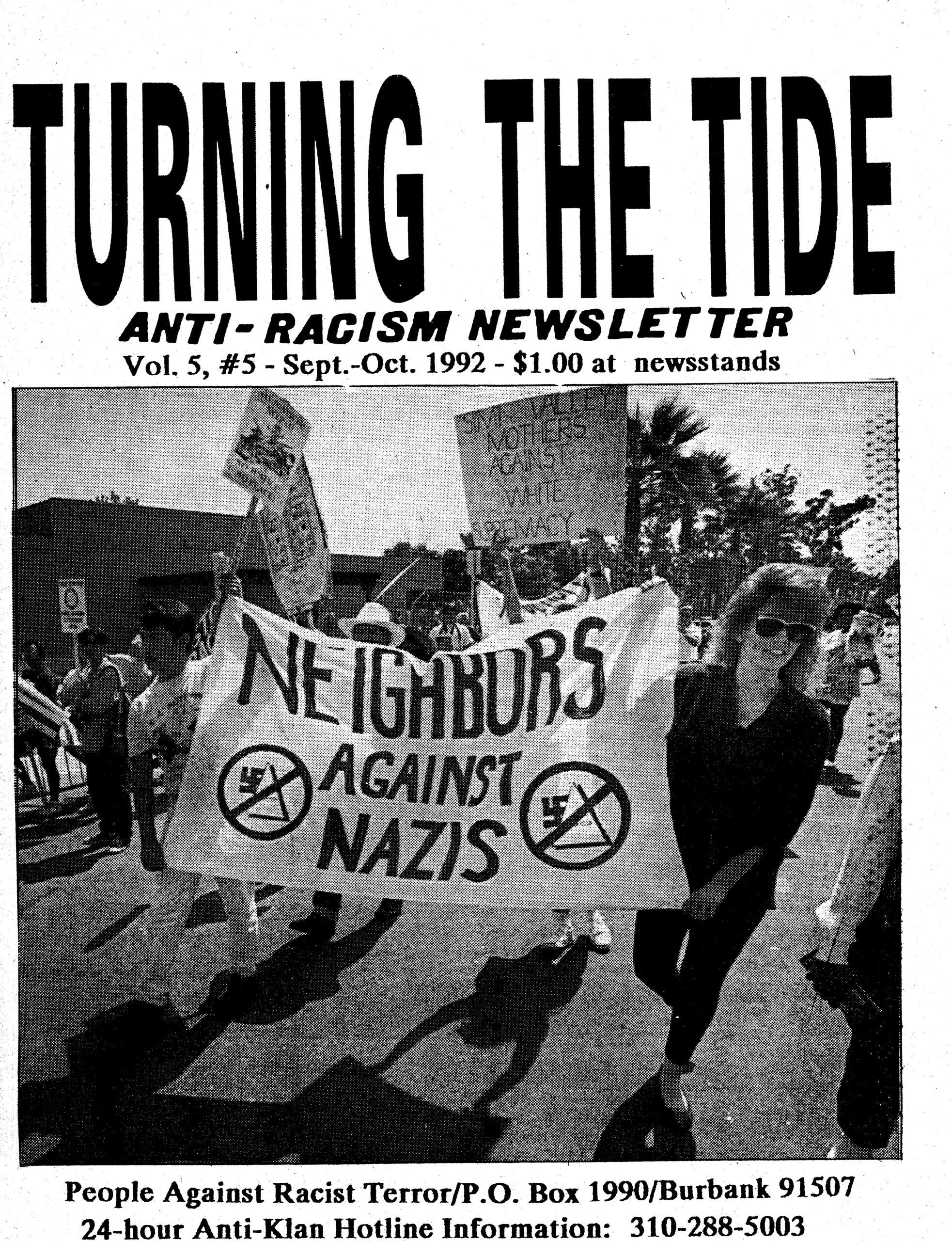 Vol. 5, #5 – Sept.-October 1992