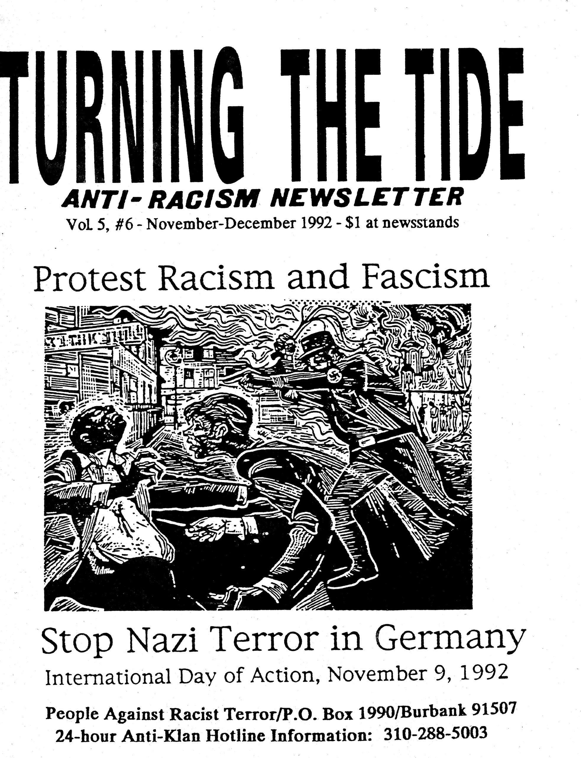 Vol. 5 #6 – November-December 1992