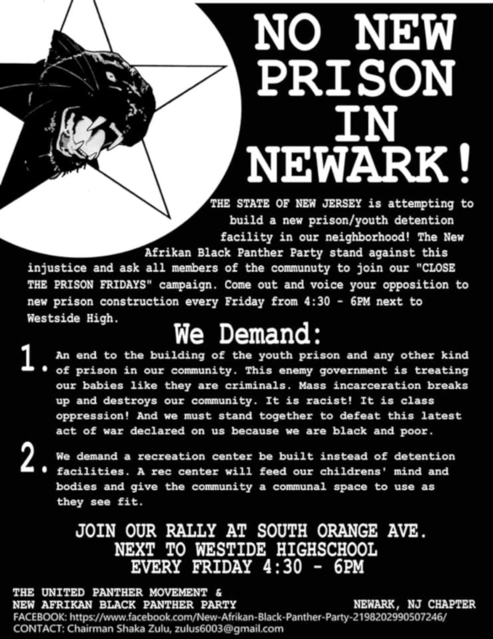 No Prison Fridays
