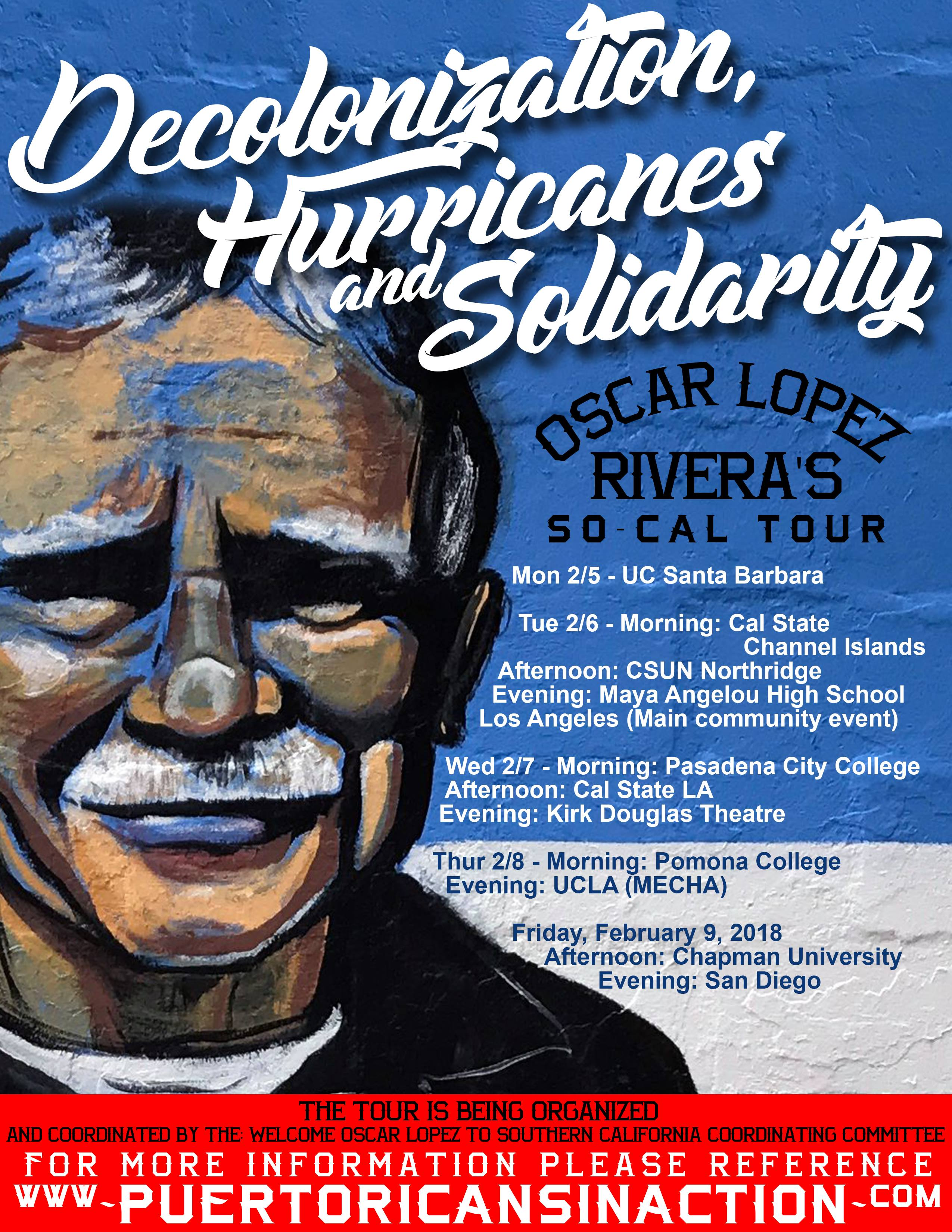 Decolonization, Hurricanes and Solidarity with Puerto Rico