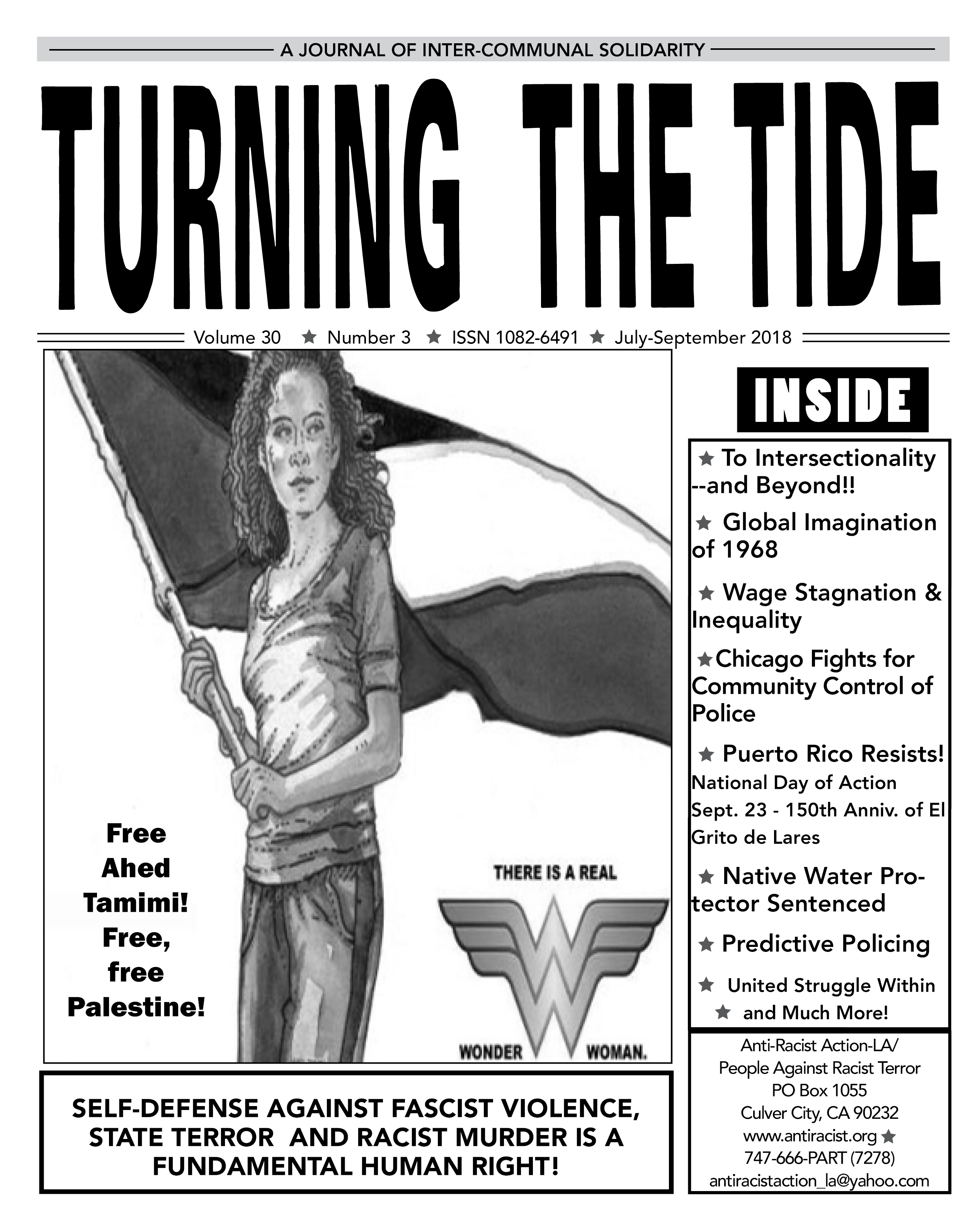Turning The Tide Vol 30 #3 July-Sept 2018