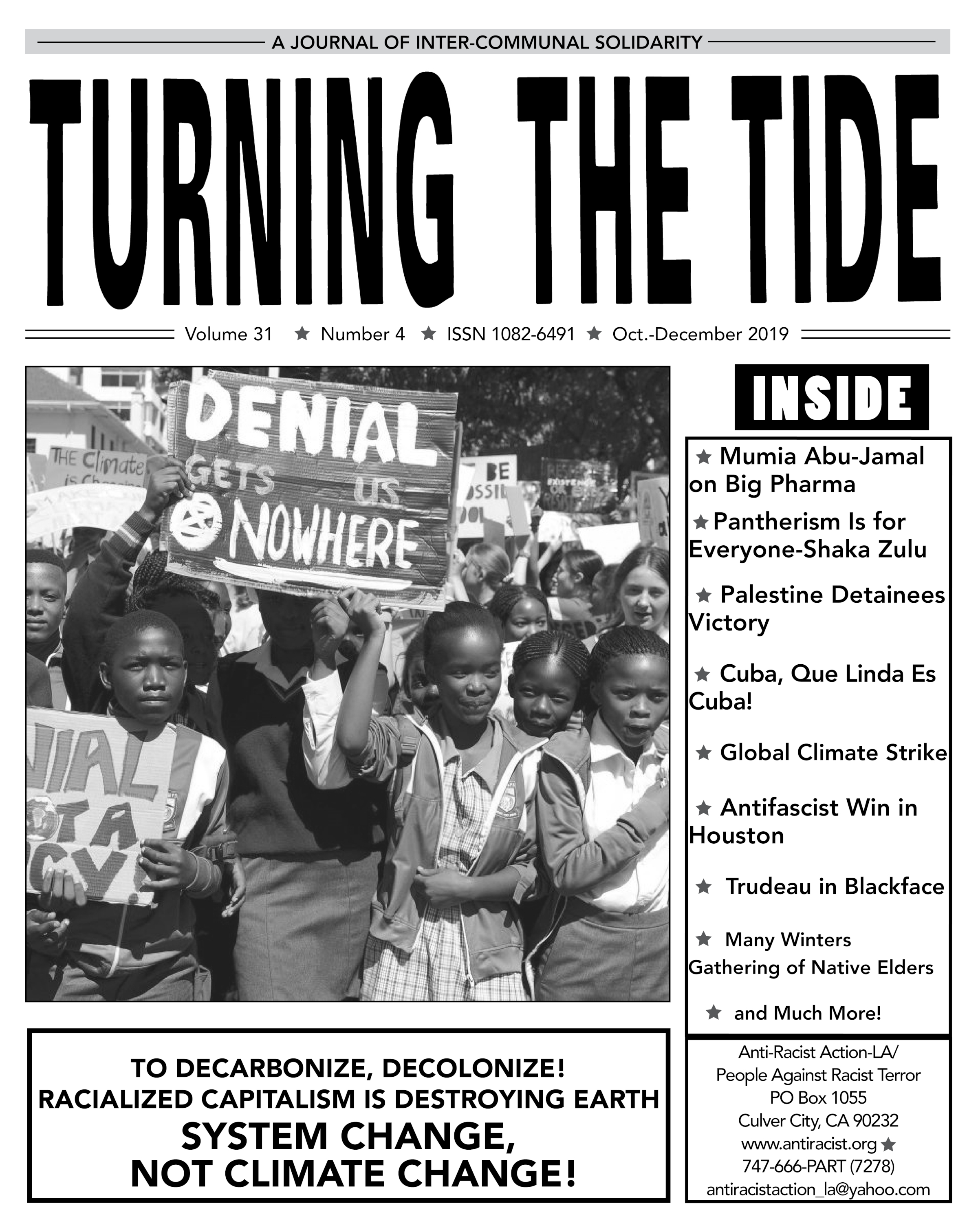 Turning The Tide, Vol. 31 #4, Oct-Dec 2019