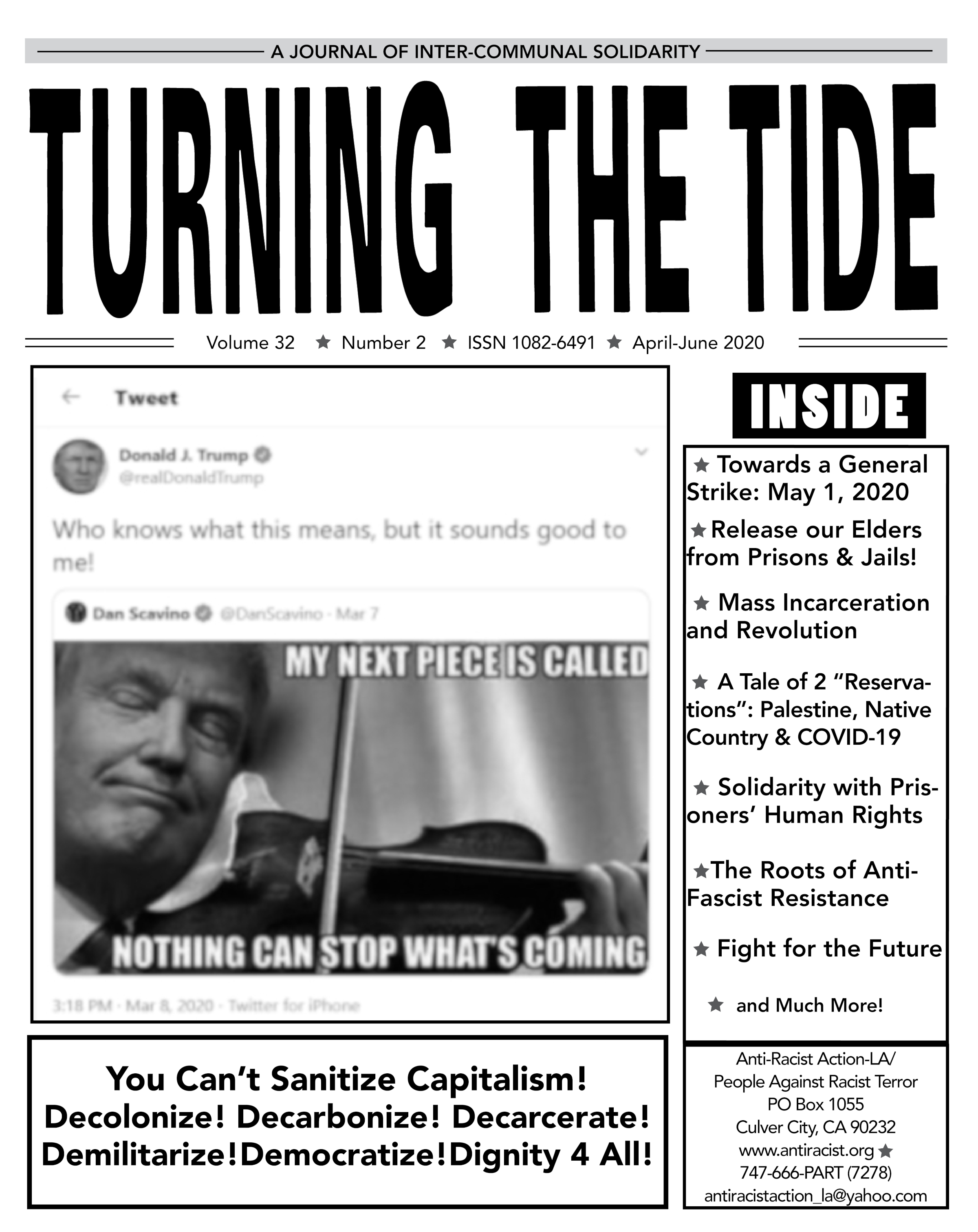 Turning The Tide: Volume 32 #2 April-June 2020 issue PDF