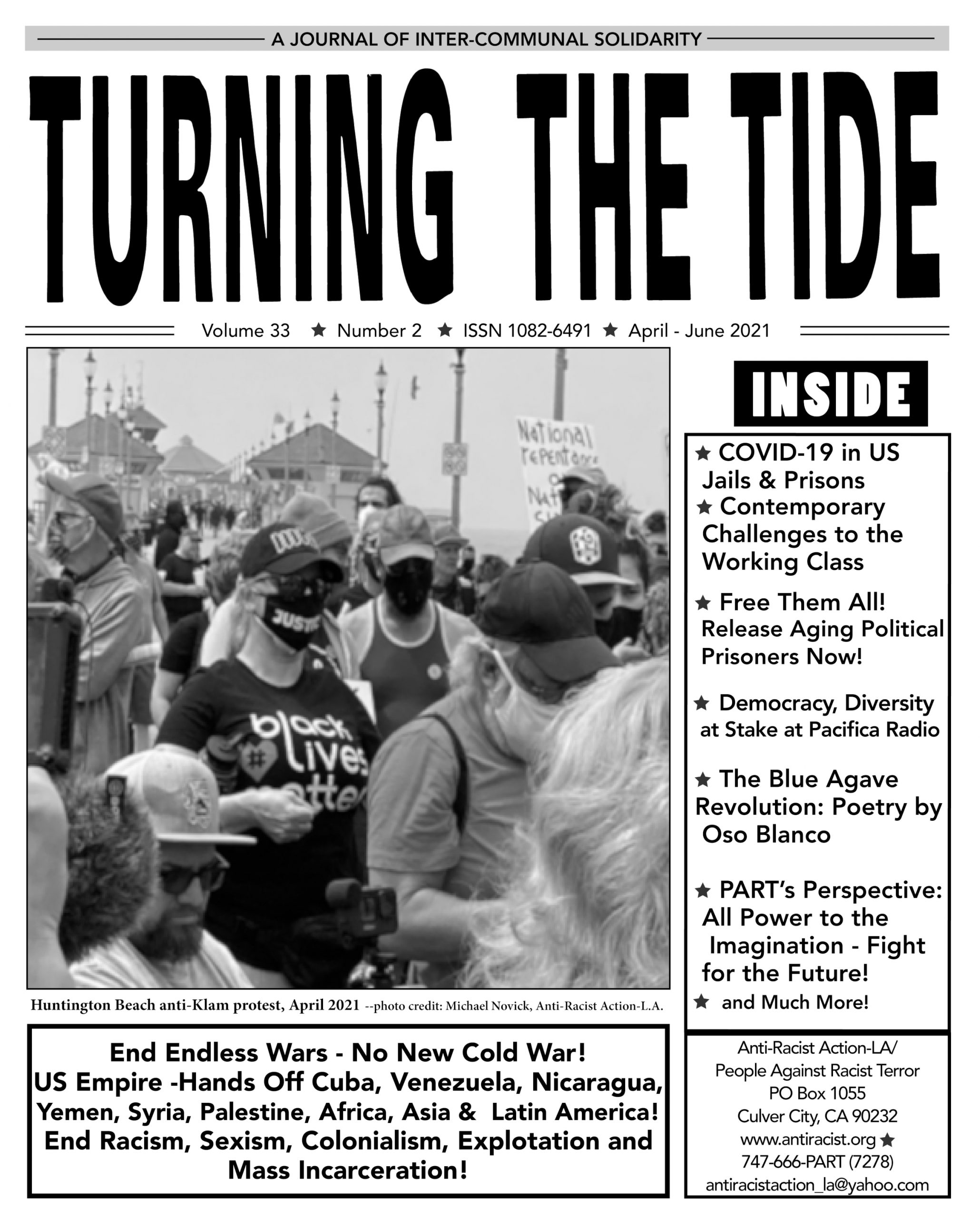 PDF of April-June 2021 issue of TTT, Vol 33 #2