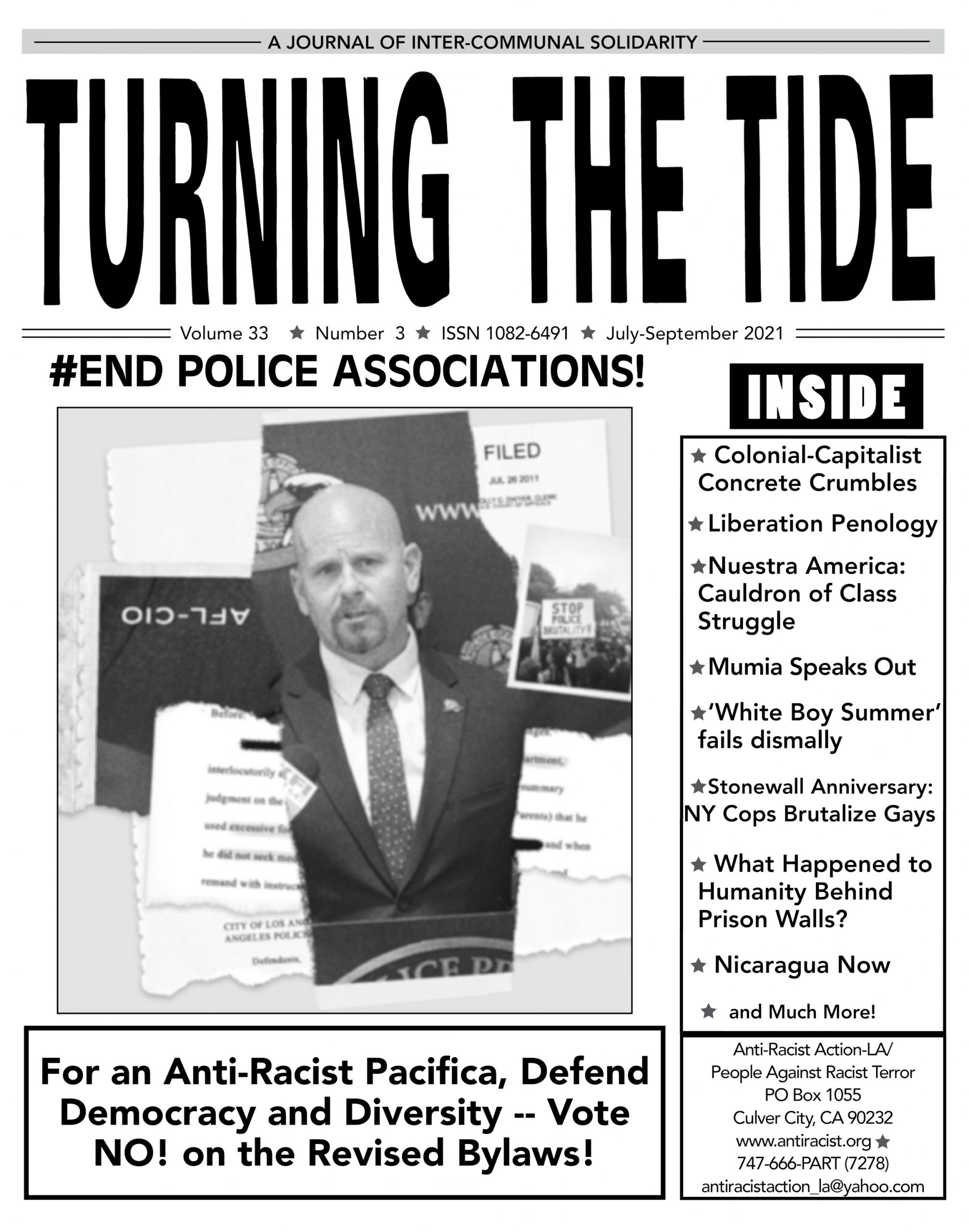 TTT Vol. 33 #3 July-Sept. 2021